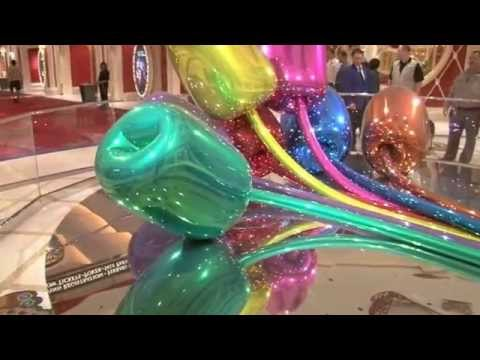Jeff Koons Art Wynn Hotel & Casino by Robert Vegas Bob Swetz 1-26-2013