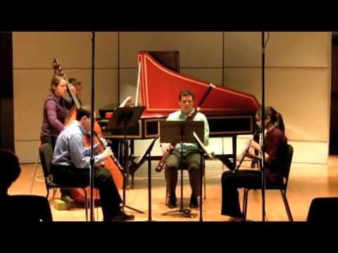 Zelenka Sonata No. 5 in F Major, II. Adagio and III. Allegro
