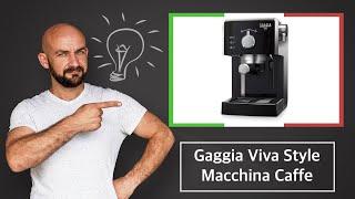 Gaggia Viva Style Macchina Ca…
