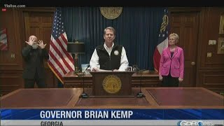 Gov. Kemp gives update on state's fight against COVID-19