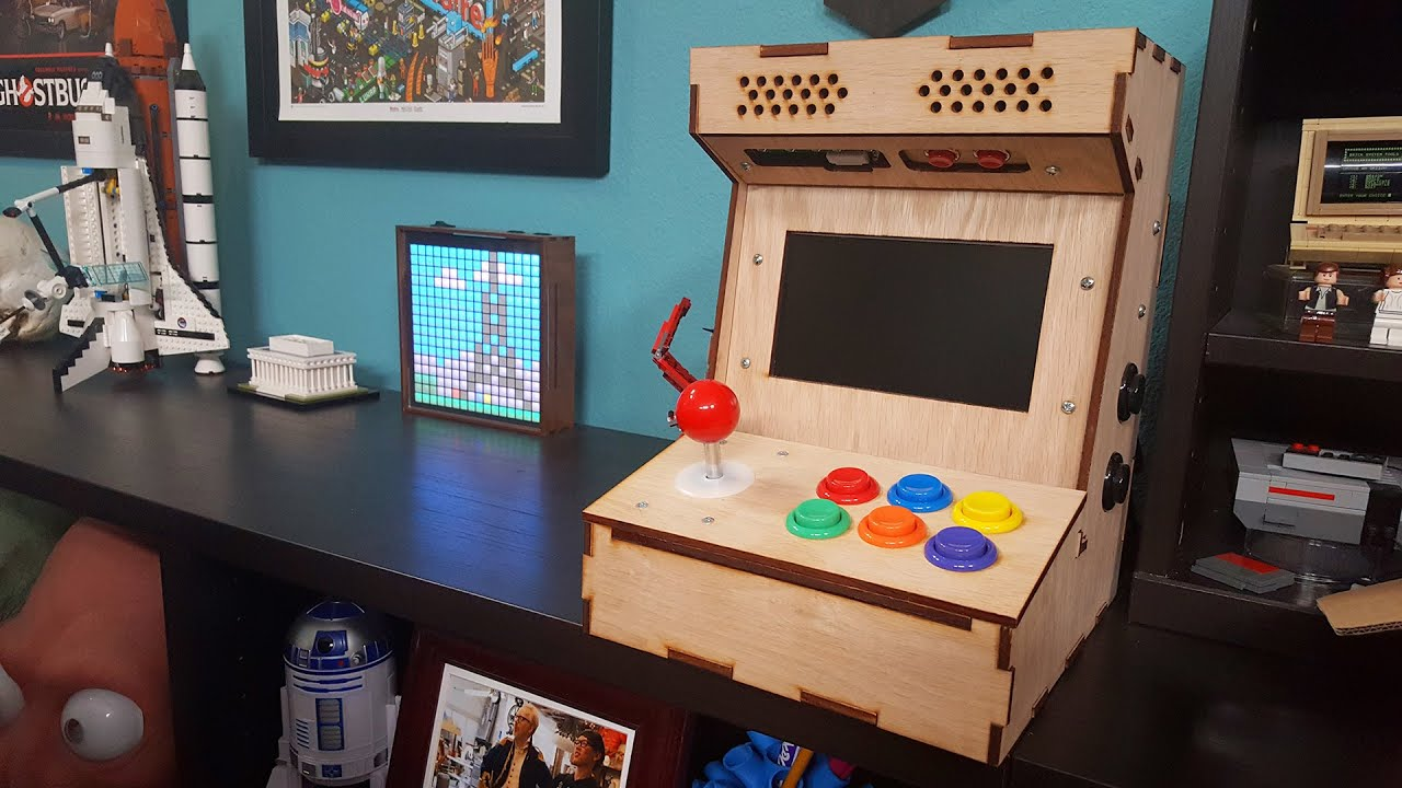 Tested Builds: DIY Arcade Cabinet Kit! - YouTube