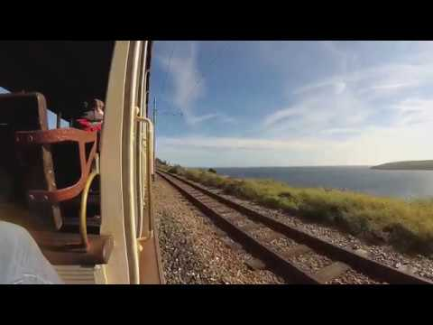 Manx Electric Railway - Laxey to Ramsey (mounted camera part two) [4K]