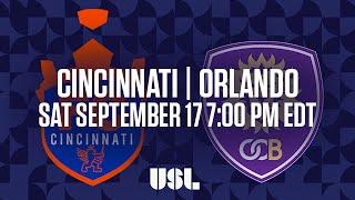 FC Cincinnati vs Orlando City II full match