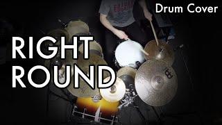 Right Round Drum Cover (Flo Rida feat. Ke$ha) by Wojtek Deregowski