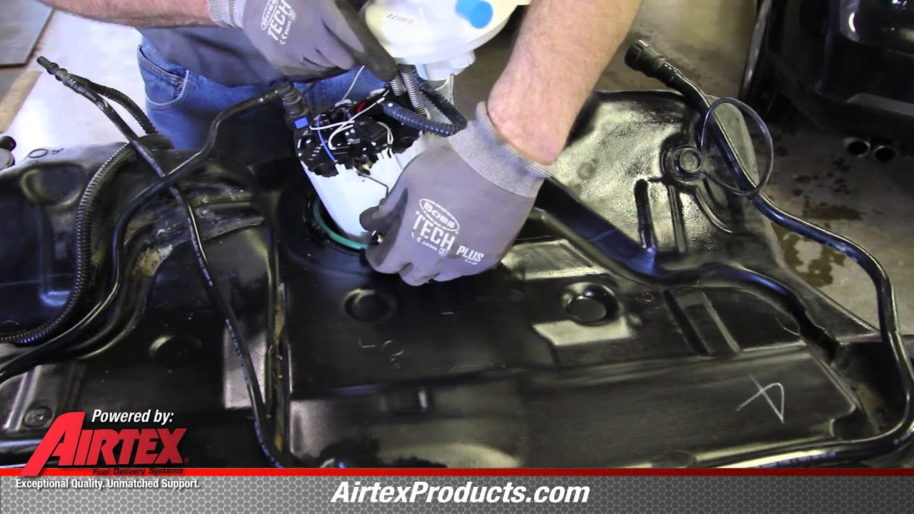 How To Install Fuel Pump Assembly E3819m In A 2009 2012 Chevy Malibu Pontiac G6 Youtube