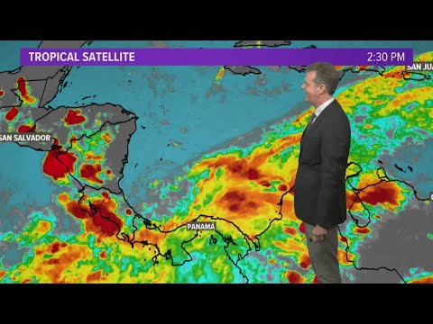 National Hurricane Center watching spot in south-central Caribbean