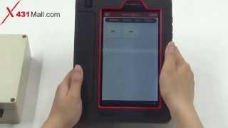 Launch X431 V Hardware Function & Language Show