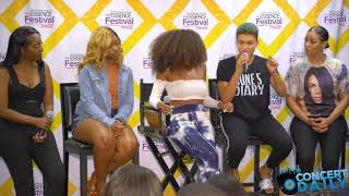 ESSENCE FEST: June's Diary speak on group camaraderie, moment they realized their talent + more