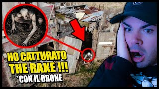 HO CATTURATO THE RAKE / SCP 096 CON IL DRONE !! 😮 *spaventoso* REACTION