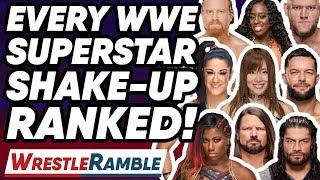 EVERY WWE SUPERSTAR SHAKE-UP 2019 MOVE RANKED! | WrestleTalk's WrestleRamble