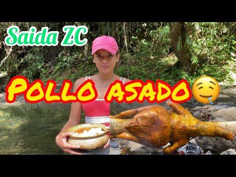 DELICIOSO POLLO ASADO JUNTO AL RIO