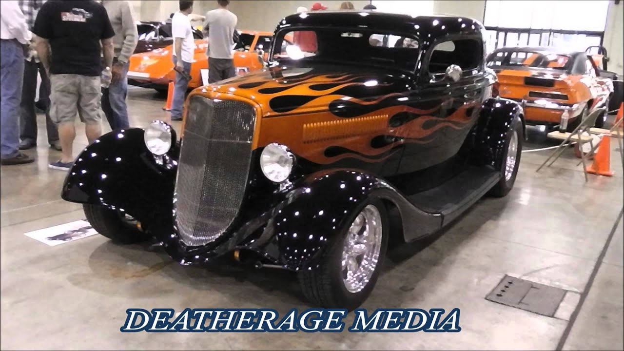 2013 HOT ROD MAGAZINE CUSTOM CAR SHOW - YouTube