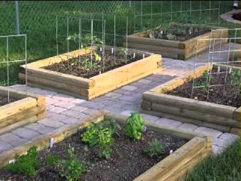 Backyard vegetable garden design ideas youtube for Garden design ideas by the sea