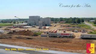 Center for the Arts (progress time-lapse) - Pittsburg State University