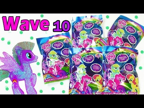 My Little Pony Blind Bags Rainbow Diamond Collection Wave 10 Toy Review Opening 2014 Set