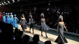 East meets Africa at fashion week in Johannesburg