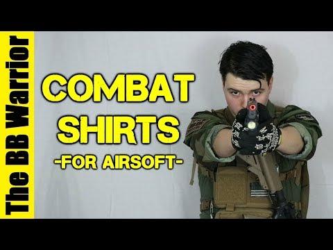 Choosing A Combat Shirt For Airsoft