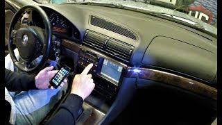 BMW E38 как подключиться к штатной магнитоле !