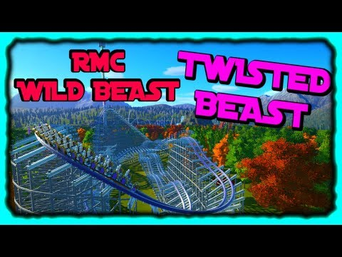 Twisted Beast (Wild Beast RMC) | Planet Coaster Creation
