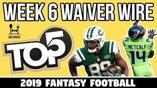 Top Waiver Wire Targets - Week 6 Fantasy Football
