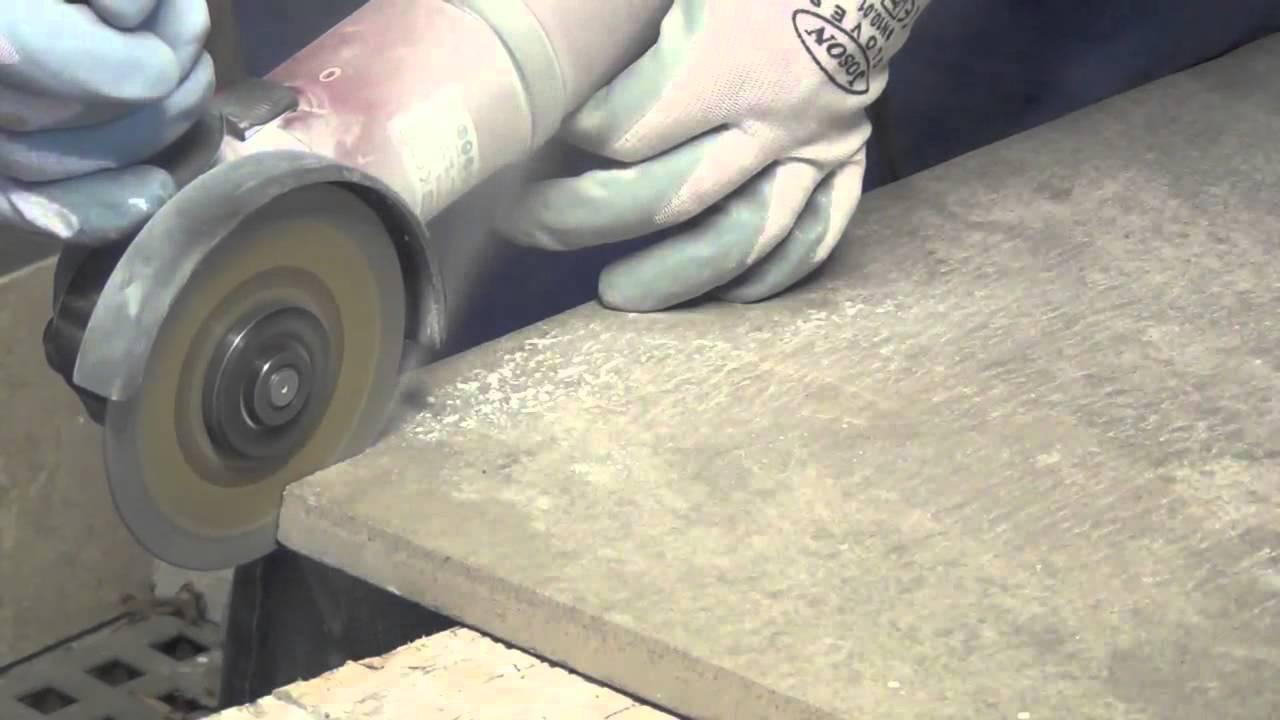 Disco diamantato per il taglio a secco di gres porcellanato alto