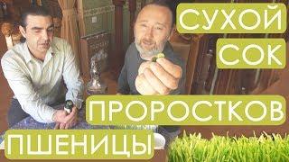 Витграсс №1. Уникальный СОК проростков пшеницы. Сухой вакуумной сушки. Новое производство!