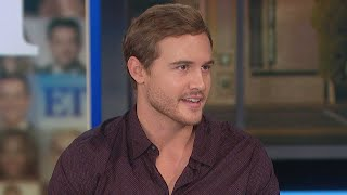 Peter Weber Reacts to Hannah Brown's Emotional Return to the Bachelor  | Full Interview