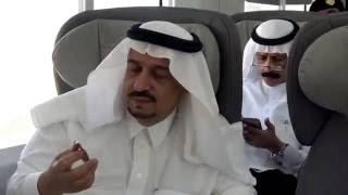 بالفيديو.. أمير الرياض لمهندسي قطار «سار»: أهنئكم يا عيال سلمان