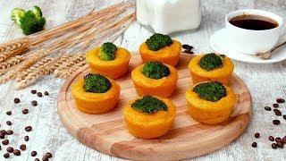 Морковные маффины с брокколи - Рецепты от Со Вкусом