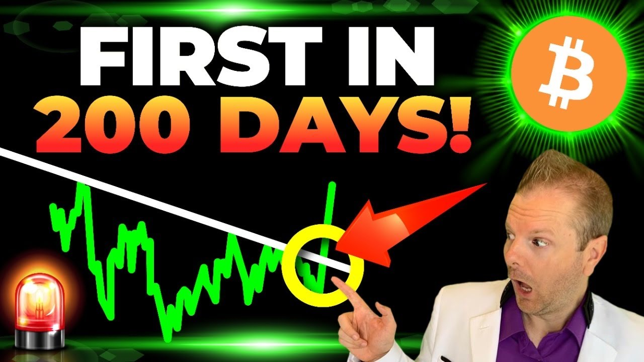 BITCOIN: FIRST TIME THIS YEAR!! (be ready!)