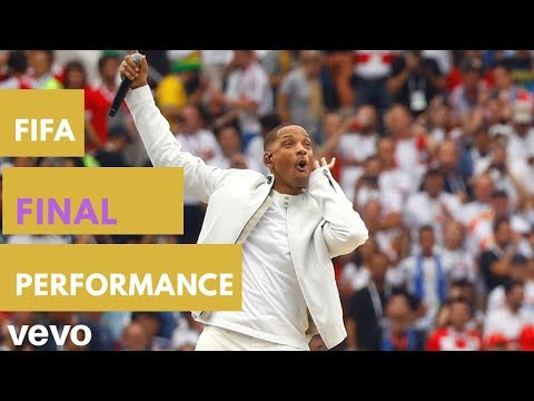 FIFA World Cup (2018) Final live performance official song - Live it up