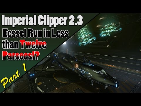 Elite Dangerous - Imperial Clipper Combat Build 2.3 - Bi-Weaves and Lasers? You Bet! - Part 1