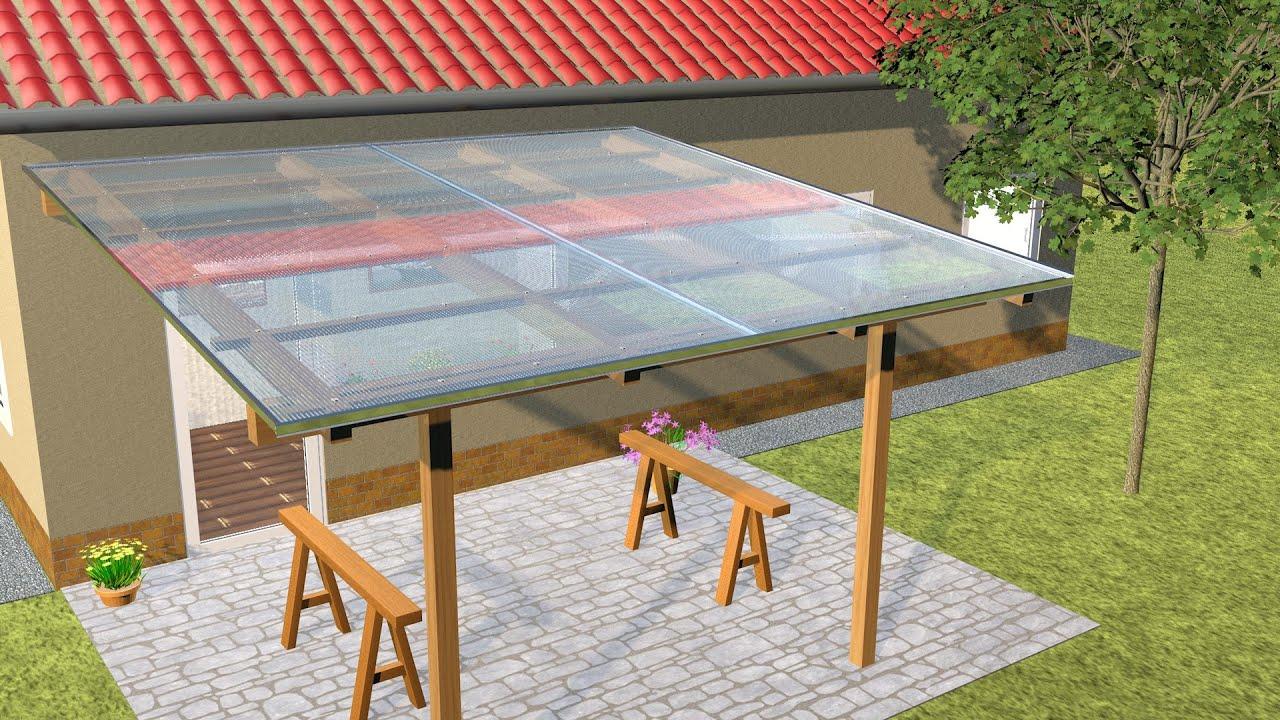 stegplatten montieren mit transparenten h verbindungsprofil z b nach hagelschaden bei. Black Bedroom Furniture Sets. Home Design Ideas