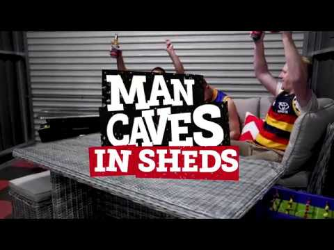What's In Your Shed - MAN CAVES | Stratco Shed Quarters