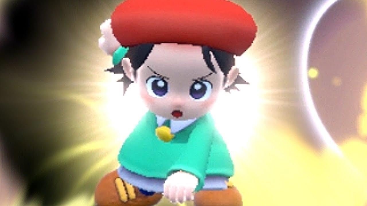 Kirby w/ Adeleine Ribbon Dark Meta Knight & Daroach Gameplay (NEW DLC Characters Kirby Star Allies)