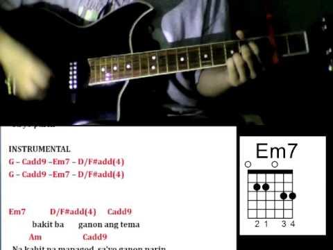 Sa'yo Pa Rin by Glaiza De Castro - Guitar Chords