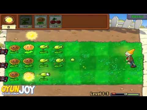 OyunJOY - Çiçekler ve Zombiler (Plants vs Zombies) Nasıl Oynanır / Walkthrough