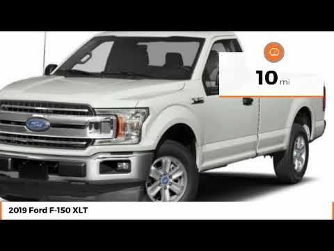 2019 Ford F-150 XLT New T8250