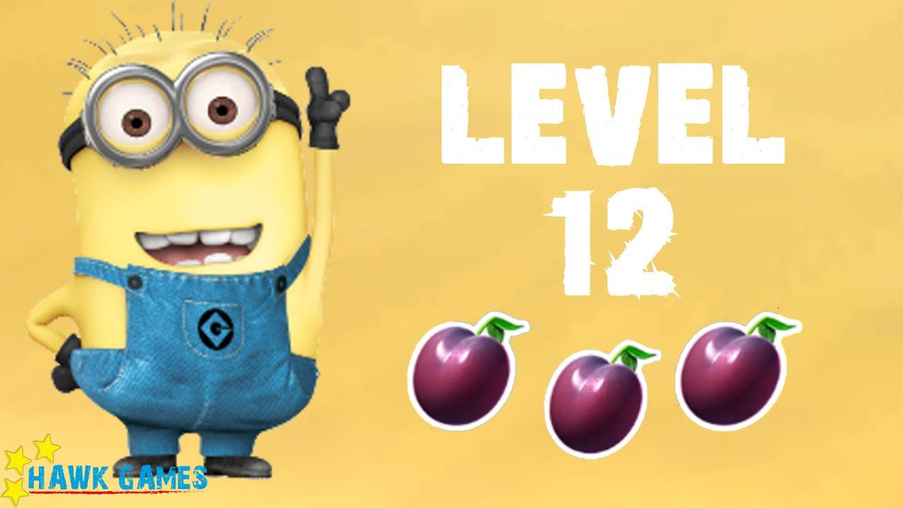Despicable Me Minion Rush Level 12 3/3 24