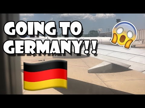 MY DEPLOYMENT!! Going To Germany & RAMSTEIN AFB - Vlog #8