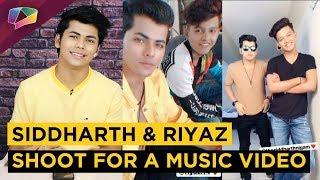 Siddharth Nigam And Riyaz Aly Shoot For Tony Kakkar's New Music Video