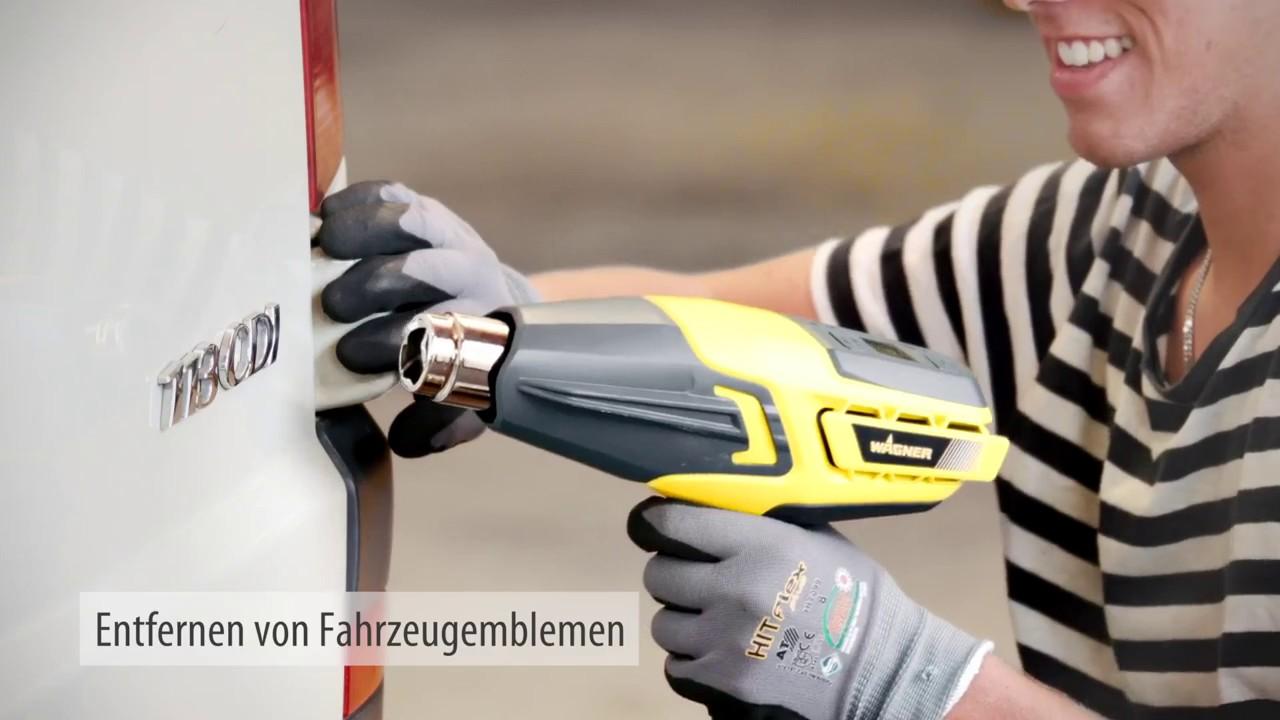Beliebt FURNO Heißluftpistolen von WAGNER - Anwendungsbeispiele - YouTube DC63