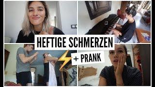 HEFTIGE SCHMERZEN + PRANK! | 13.08-14.08.2018 | ✫ANKAT✫