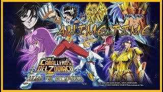 [ANIME TIME] Los Caballeros del Zodiaco Alma de Soldados (Con música del anime)