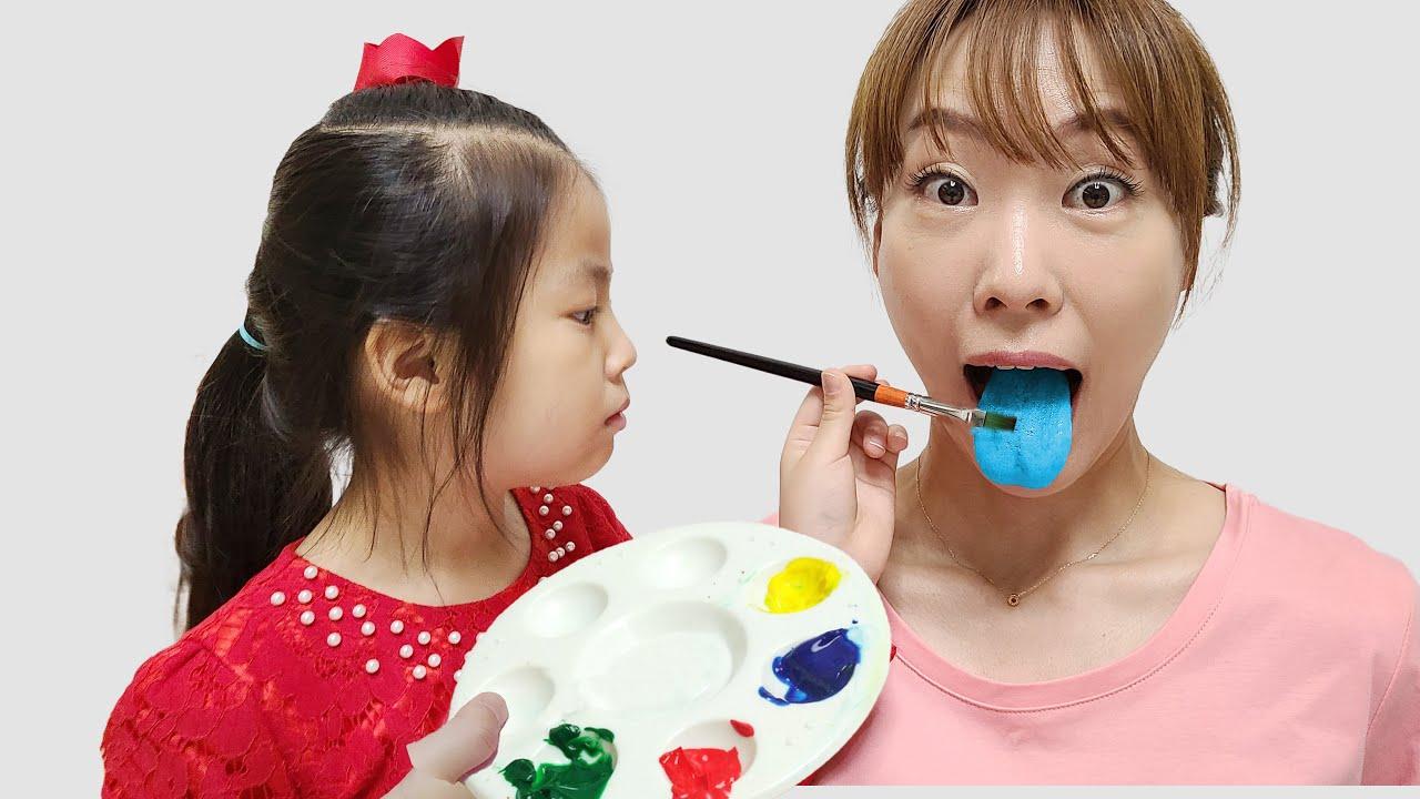 아이스크림을 누가 먹었을까요? 서은이의 색깔 아이스크림 찾기 모험 Colorful Ice Cream Search