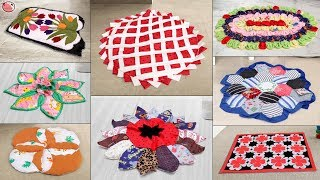 9 Stylish Doormat Ideas For Home !!! Handmade Things    Best Out of Waste