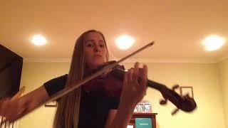 Anna Allen Violin Audition For BYU Musicians Institute