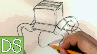 Kraken Draws ~ A Cardboard Kraken