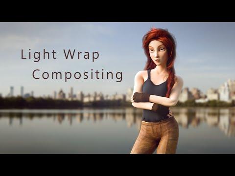 Light Wrap Compositing in Blender