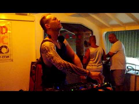 DJ Brian Cox playing Tracy Brathwaite's